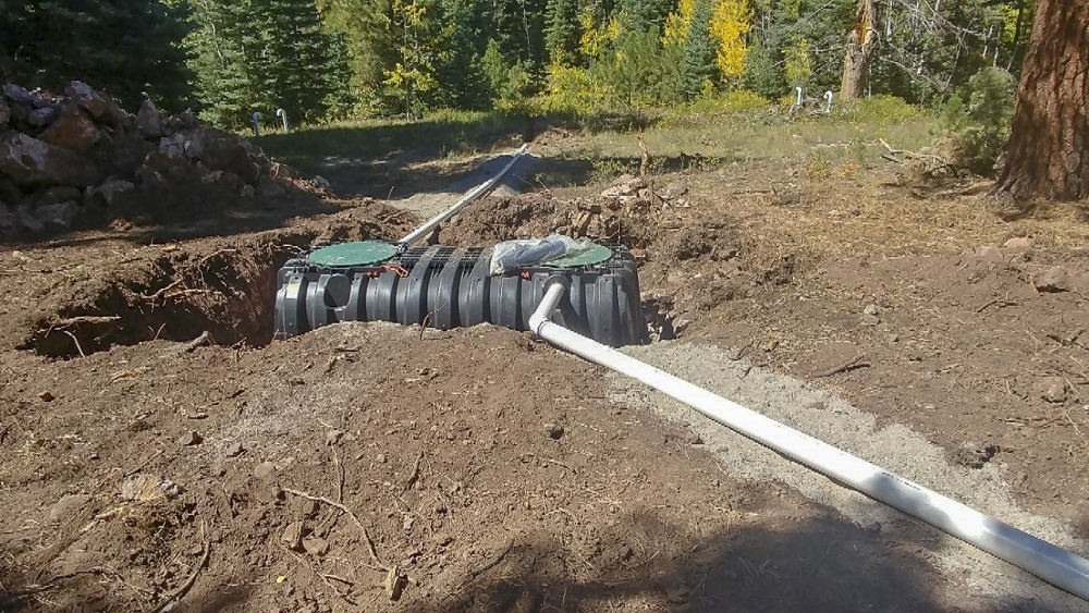 Electra Ski Cabin – Septic and Electrical installed